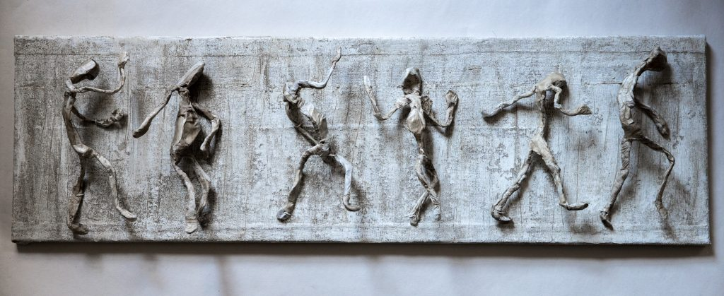 Wall Relief H30 x W100 x D2cms